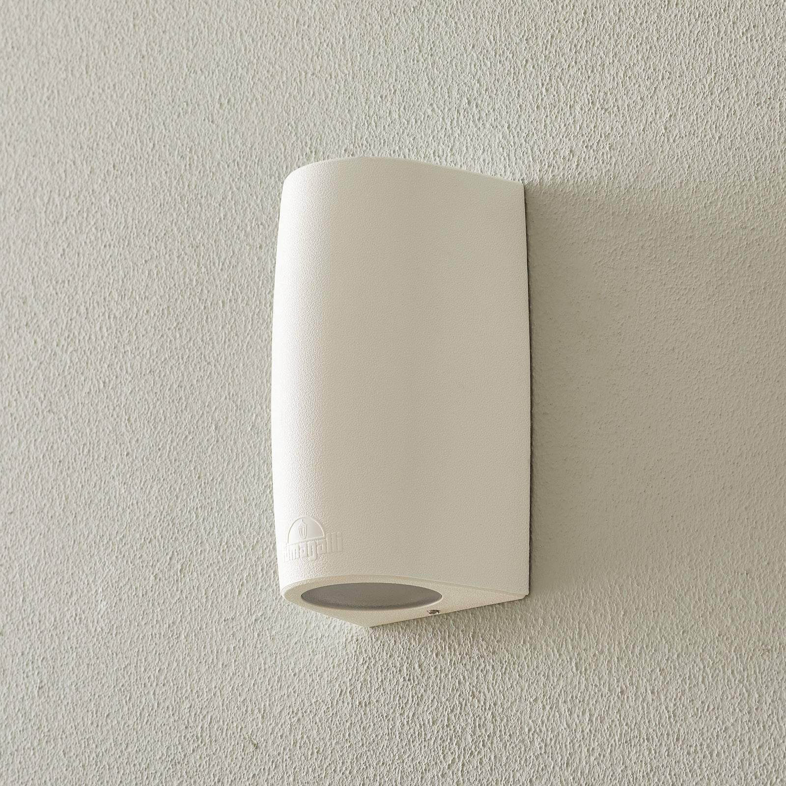 Marta-seinälamppu 9,2 cm 1-lamp. valkoinen/frosted
