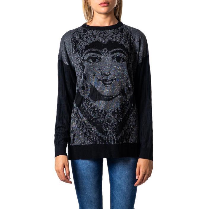 Desigual Women's Sweatshirt Black 176602 - black M