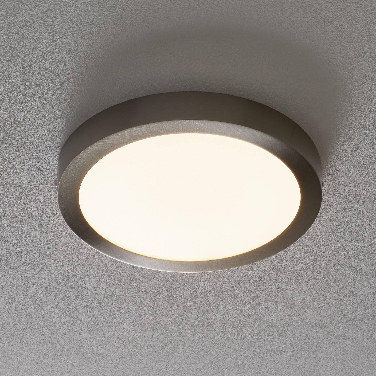 Fueva Connect - LED-kattovalaisin, 30 cm, nikkeli
