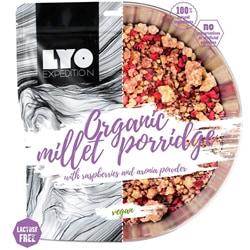 Lyofood Organic Millet Porridge With Raspberries & Aronia Powder