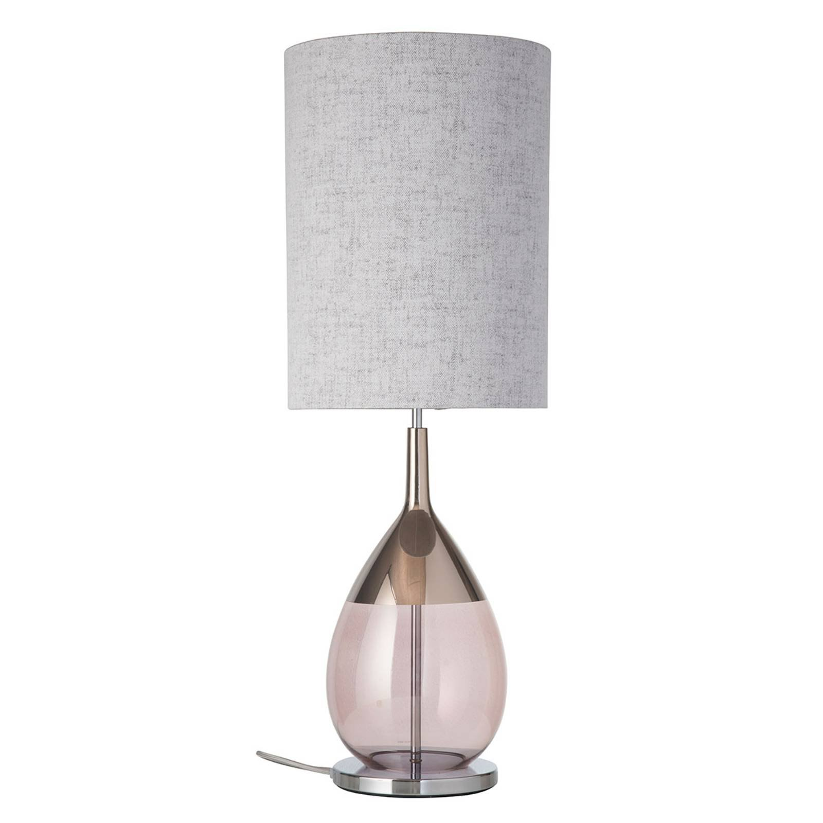 EBB & FLOW Lute bordlampe med skjerm, Marl