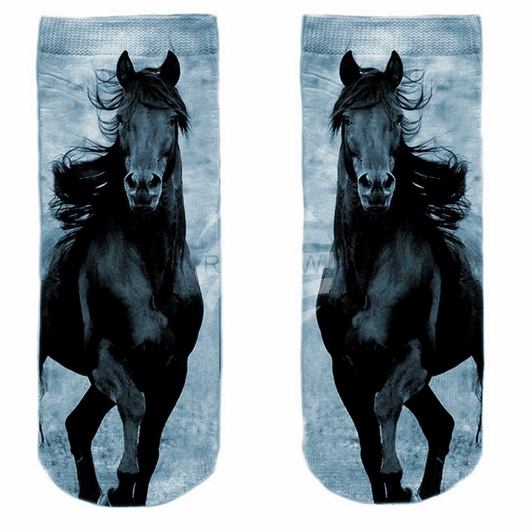 Häst - Motivstrumpor