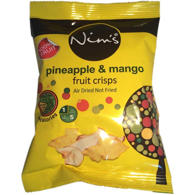 Fruktchips Ananas & Mango - 33% rabatt