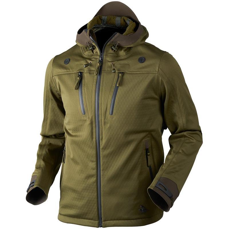 Seeland Hawker Shell jakke 56 Pro green Vindtett skalljakke med stretch