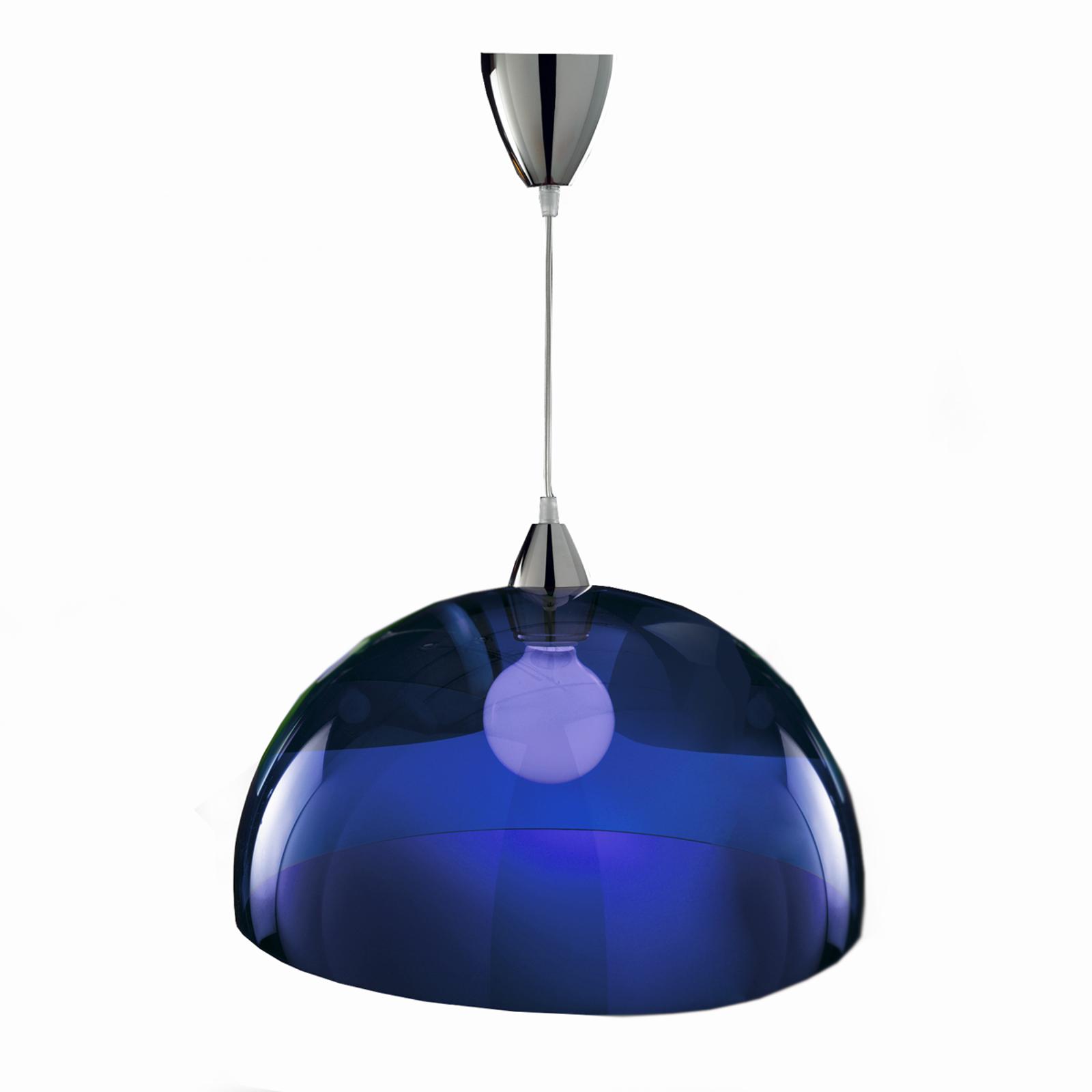 Trendikäs design-riippuvalaisin BLO, sininen