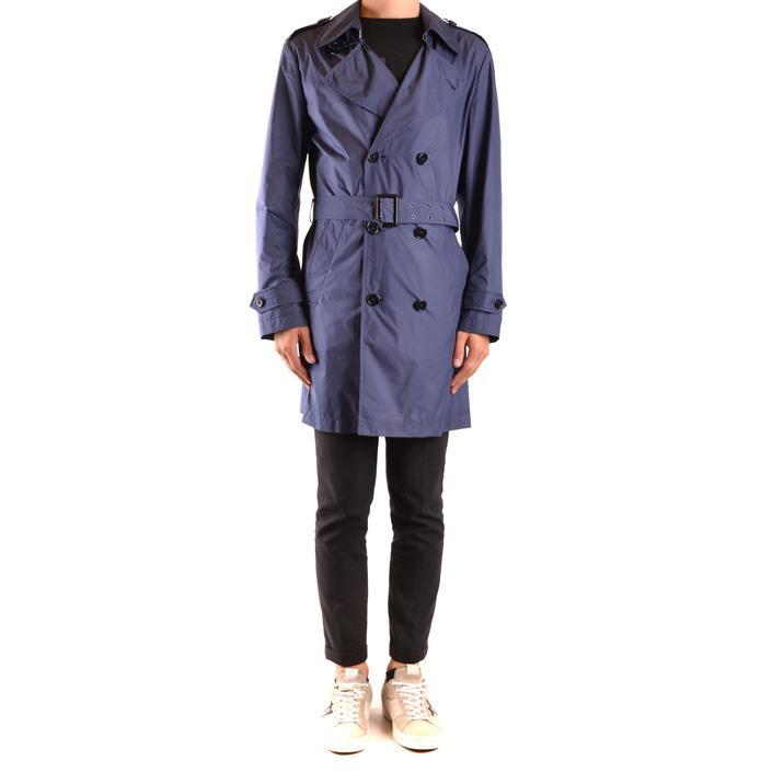 Fay Men's Jacket Blue 169097 - blue M