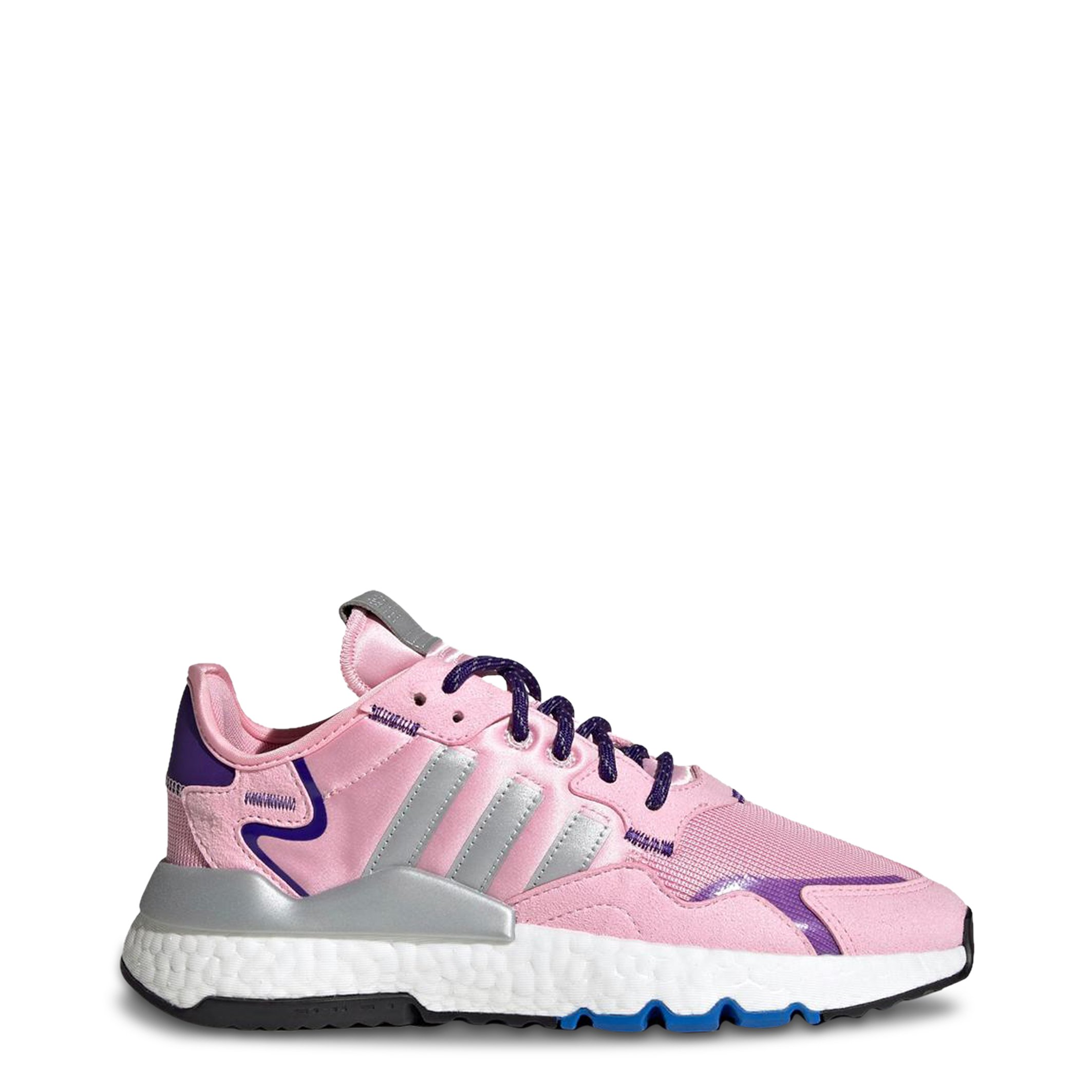 Adidas Men's Nite Jogger Trainers Various Colours EE5851 - pink-1 UK 5.0