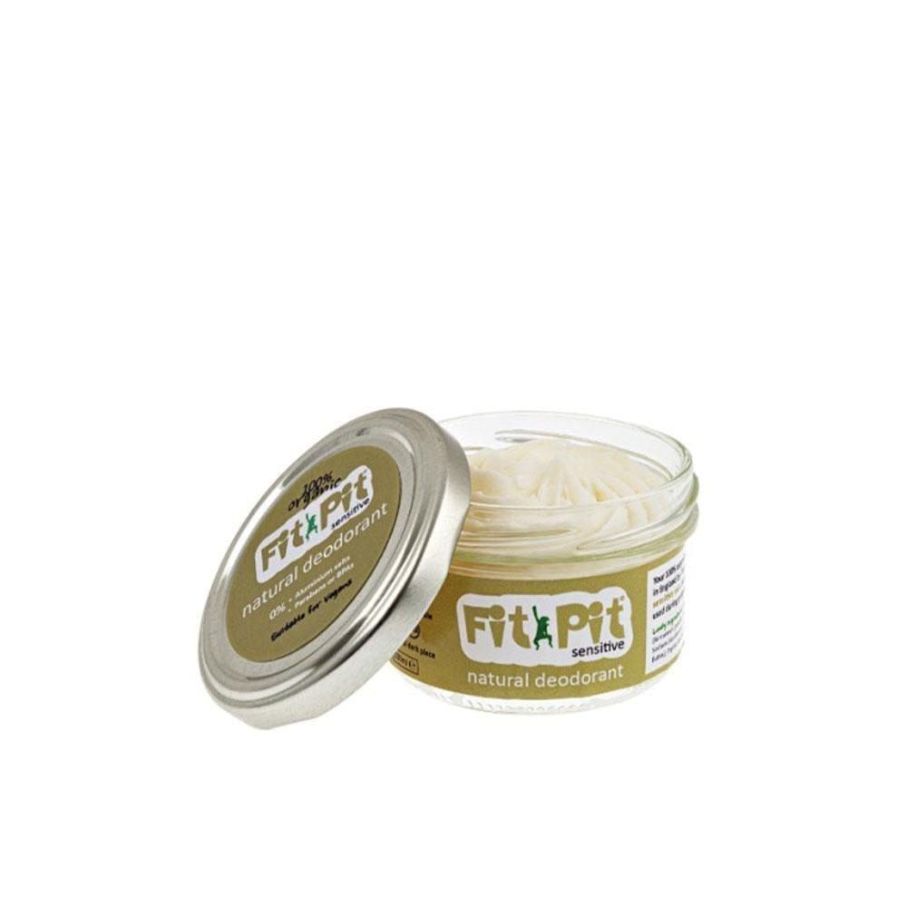 Fit Pit Sensitive – Natural Deodorant (25ml/100ml) 100ml