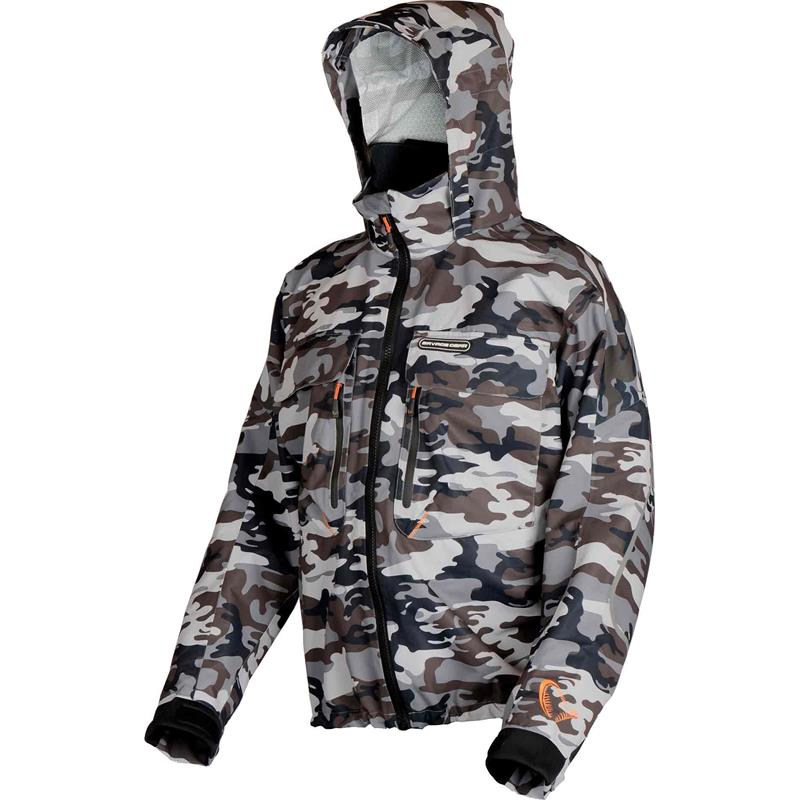 Savage Gear Camo Jacket XXL 2,5 lags vanntett jakke