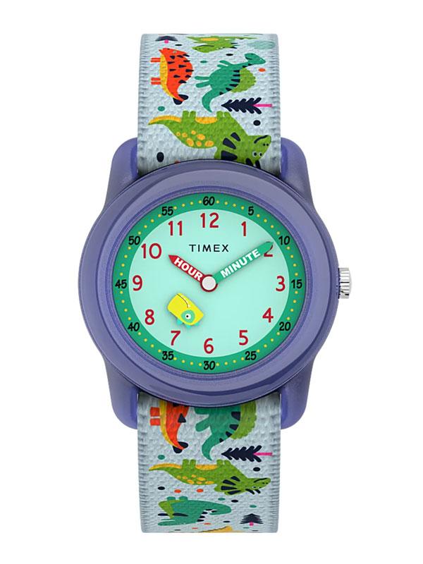 TIMEX Time Machines Purple Dinosaur 29mm TW7C77300 - Barnklocka
