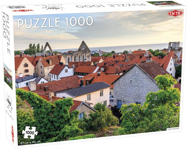 Tactic - Puzzle 1000 pc - Visby, Gotland