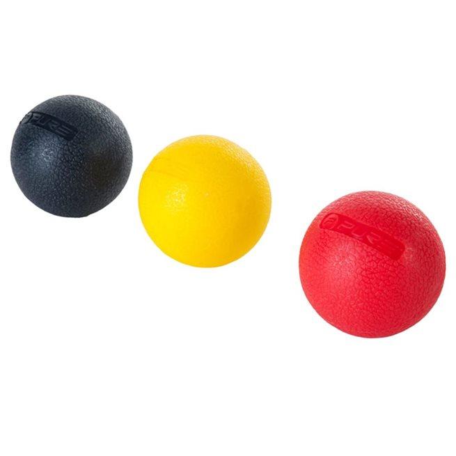 vidaXL Set á massageboll i tre delar 5 cm
