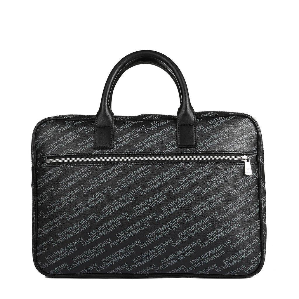Emporio Armani Men's Briefcase Black Y4P092 YLO7E - black NOSIZE