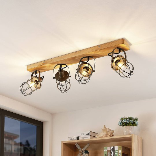 Lindby Serima taklampe med tre, 4 lyskilder