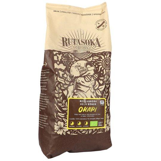 Luomu Keskitumma Kahvipavut - 33% alennus