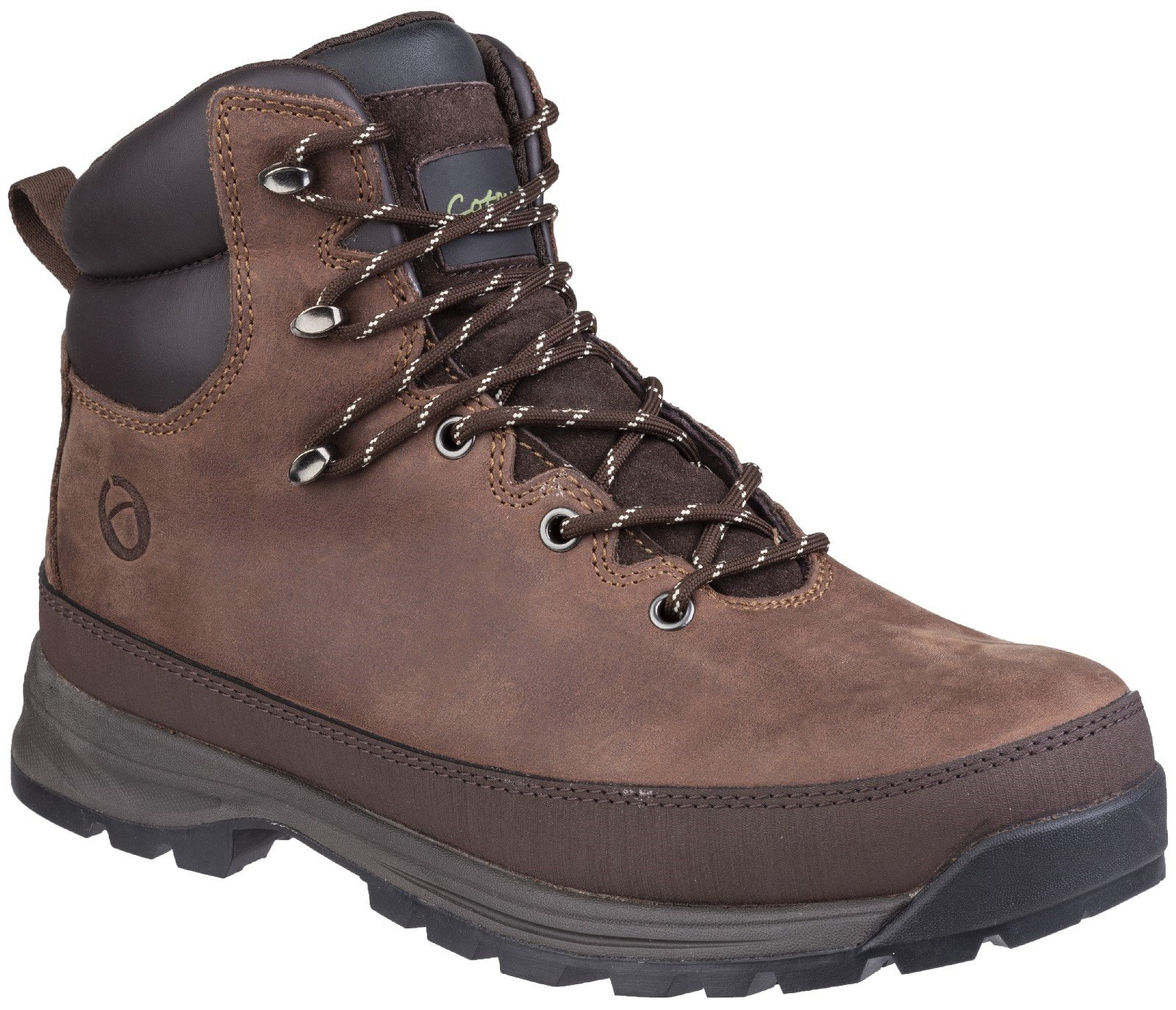 Cotswold Men's Sudgrove Lace Up Boot Brown 27137 - Brown 7