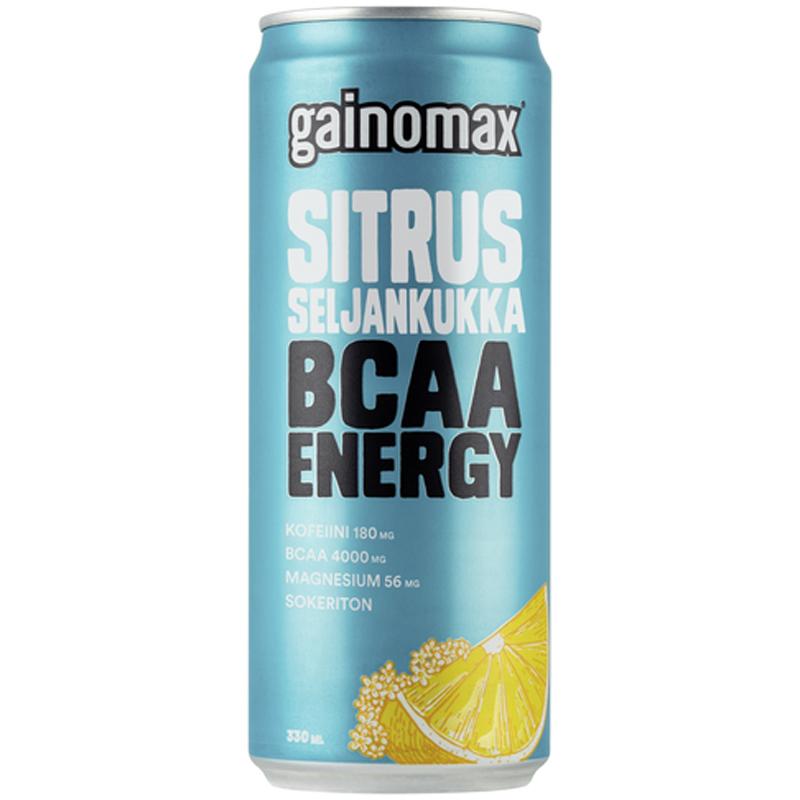 Energiajuoma BCAA Sitrus-Seljankukka - 28% alennus