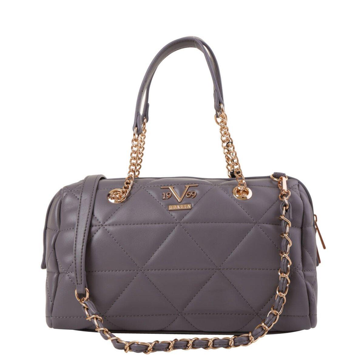 19v69 Italia Women's Handbag Various Colours 319004 - grey UNICA