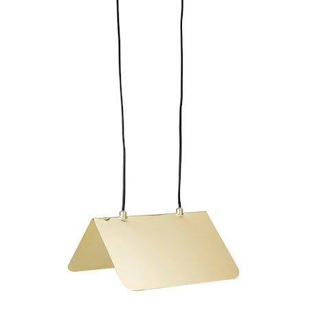 Taklampe Gold Metal