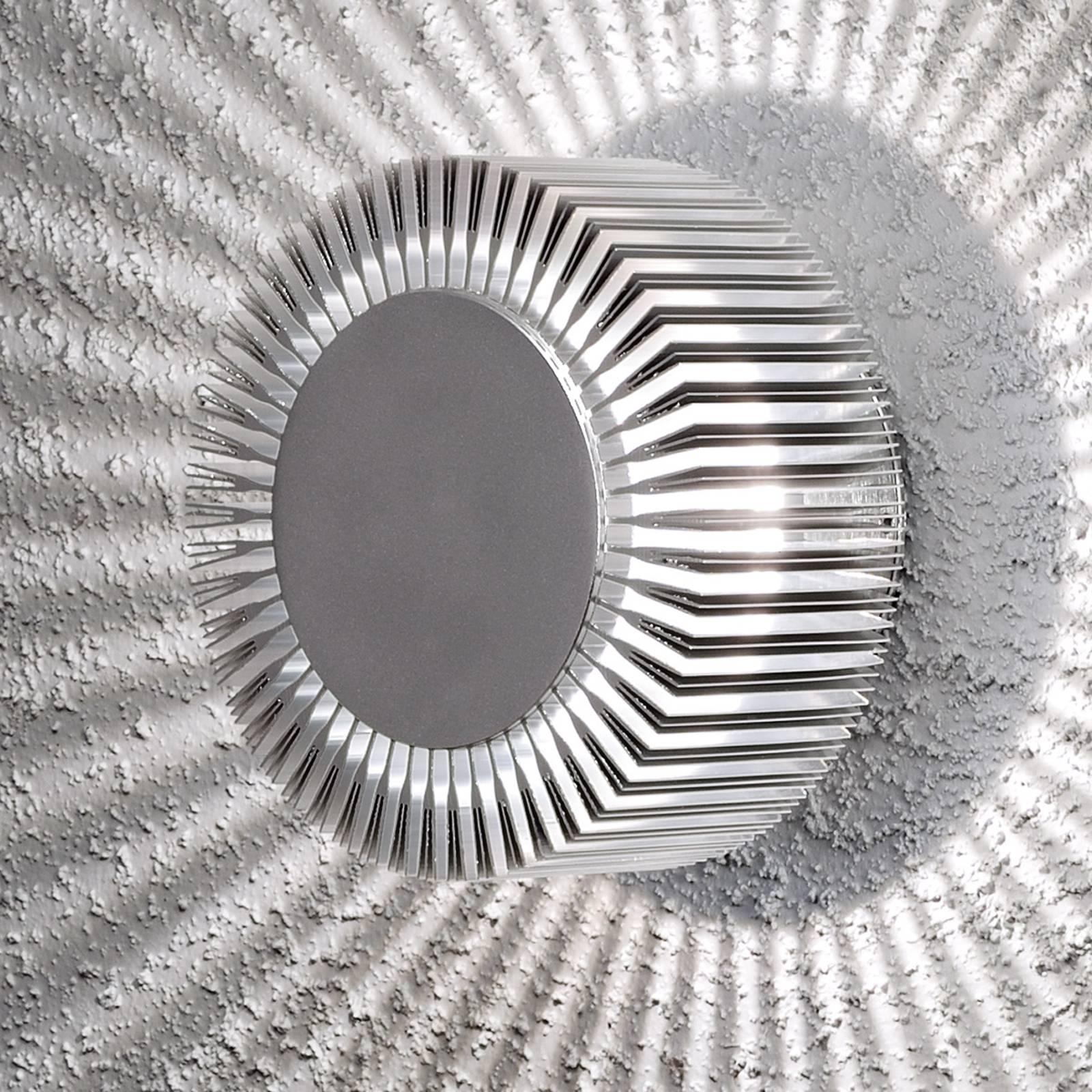 Alumiininen ulkoseinävalaisin LED Monza IP54