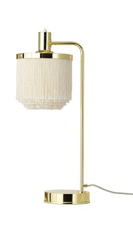 Fringe Bordslampa Cream White