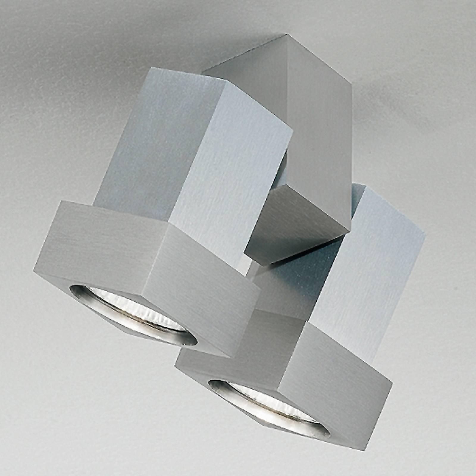 Katto- tai seinäkohdevalaisin STYLE Q alumiini