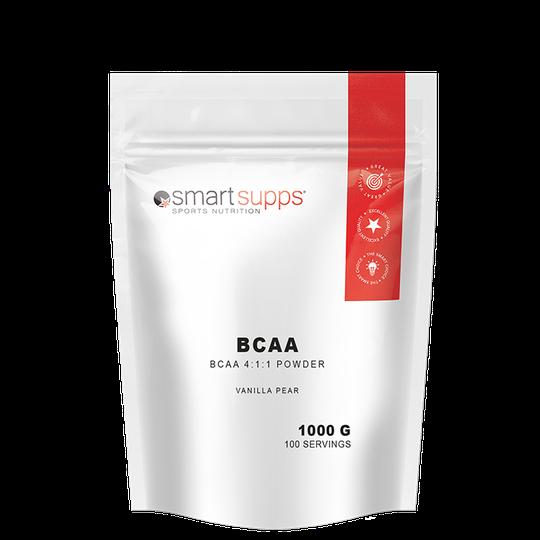 SmartSupps BCAA, Vanilla Pear, 1 kilo