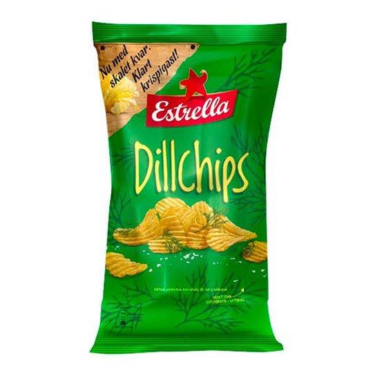 Estrella Dill Chips - 175 gram