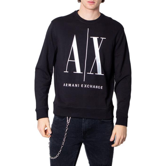 Armani Exchange Men's Sweatshirt Black 171399 - black XS