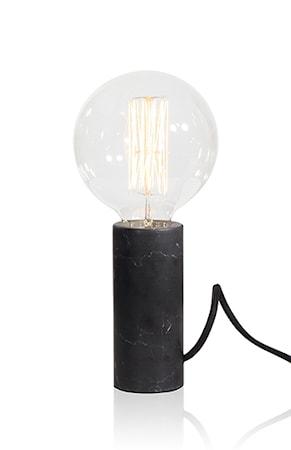 Bordslampa Marmor Svart