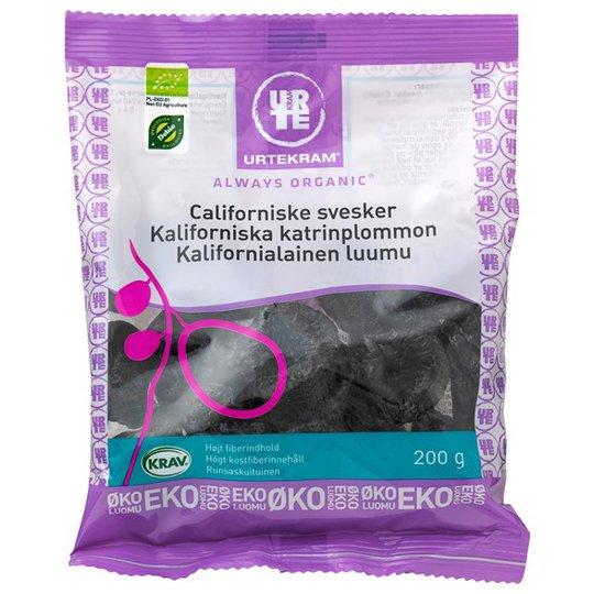 Urtekram Food Kaliforniska Katrinplommon, 200 g