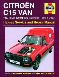 Haynes Reparationshandbok, Citroën C15 Van Petrol & Diesel, Universal