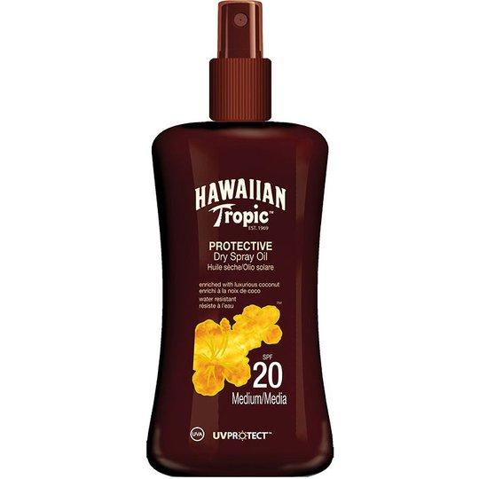 Hawaiian Tropic Protective Dry Spray Oil SPF 20, 200 ml Hawaiian Tropic Aurinkovoiteet