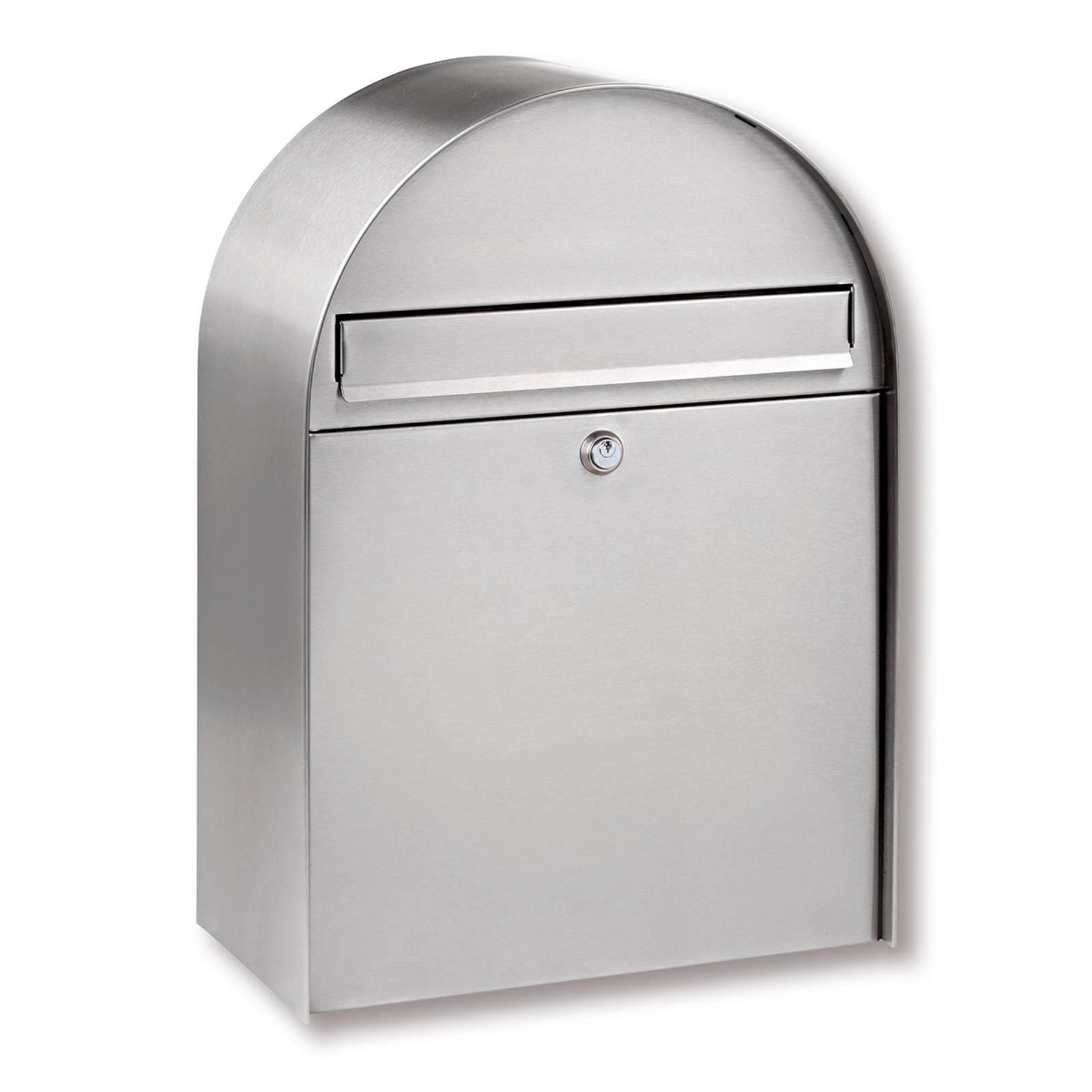 Nordic - postilaatikko, ruost. teräs, pyöreä kaari