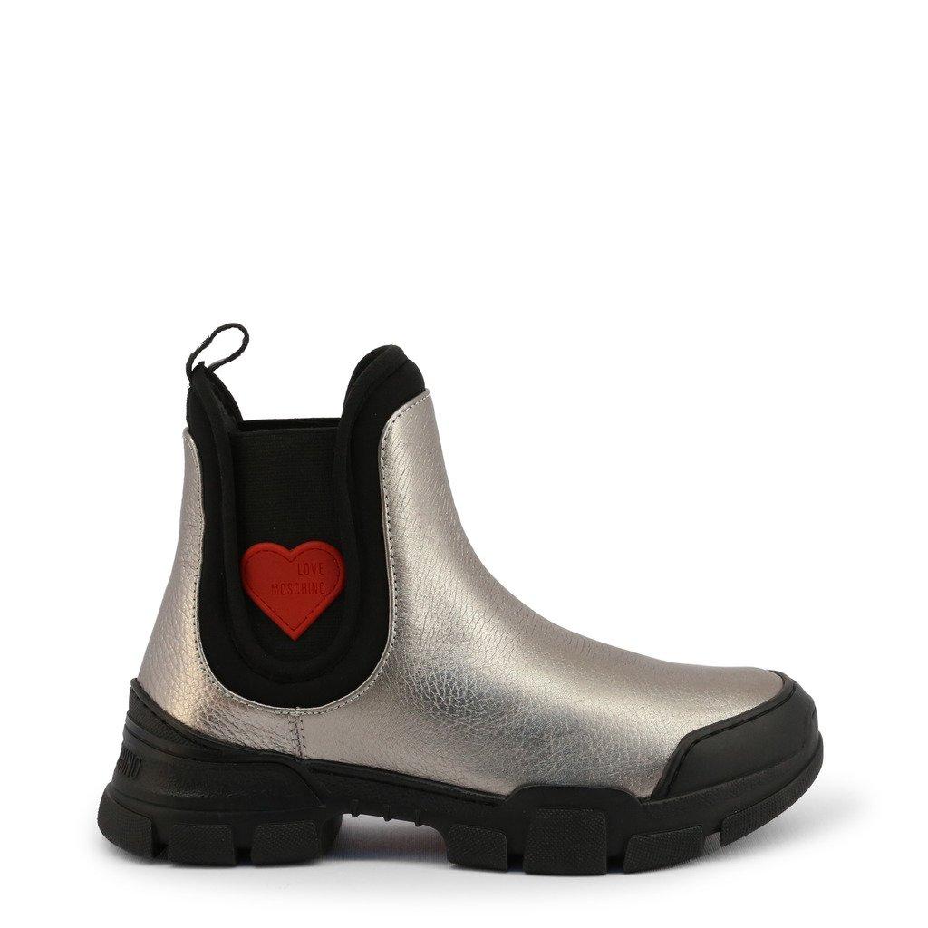 Love Moschino Women's Ankle Boot Grey JA15614G0BJC - grey EU 36