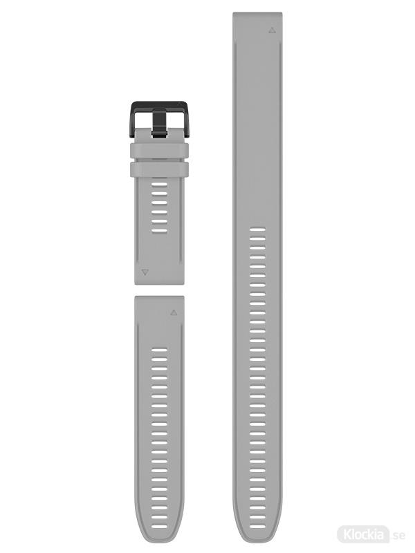 Garmin Armband 26mm QuickFit Grey Silicone (3-piece Set) 010-12904-00