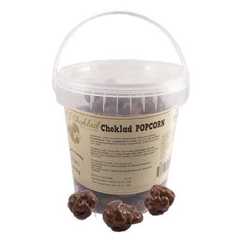 Chokladpopcorn i Hink - 250 gram