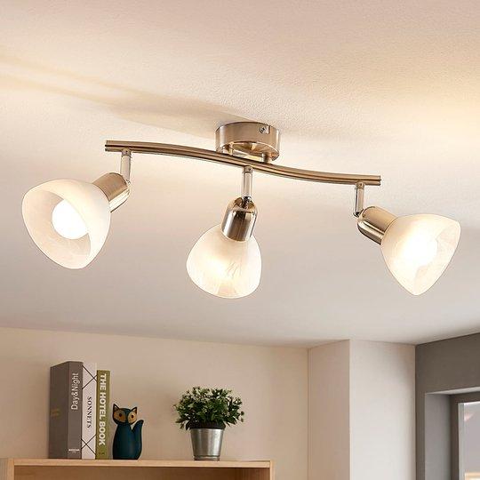 Lindby Paulina LED-taklampe, 3 lyskilder, lang
