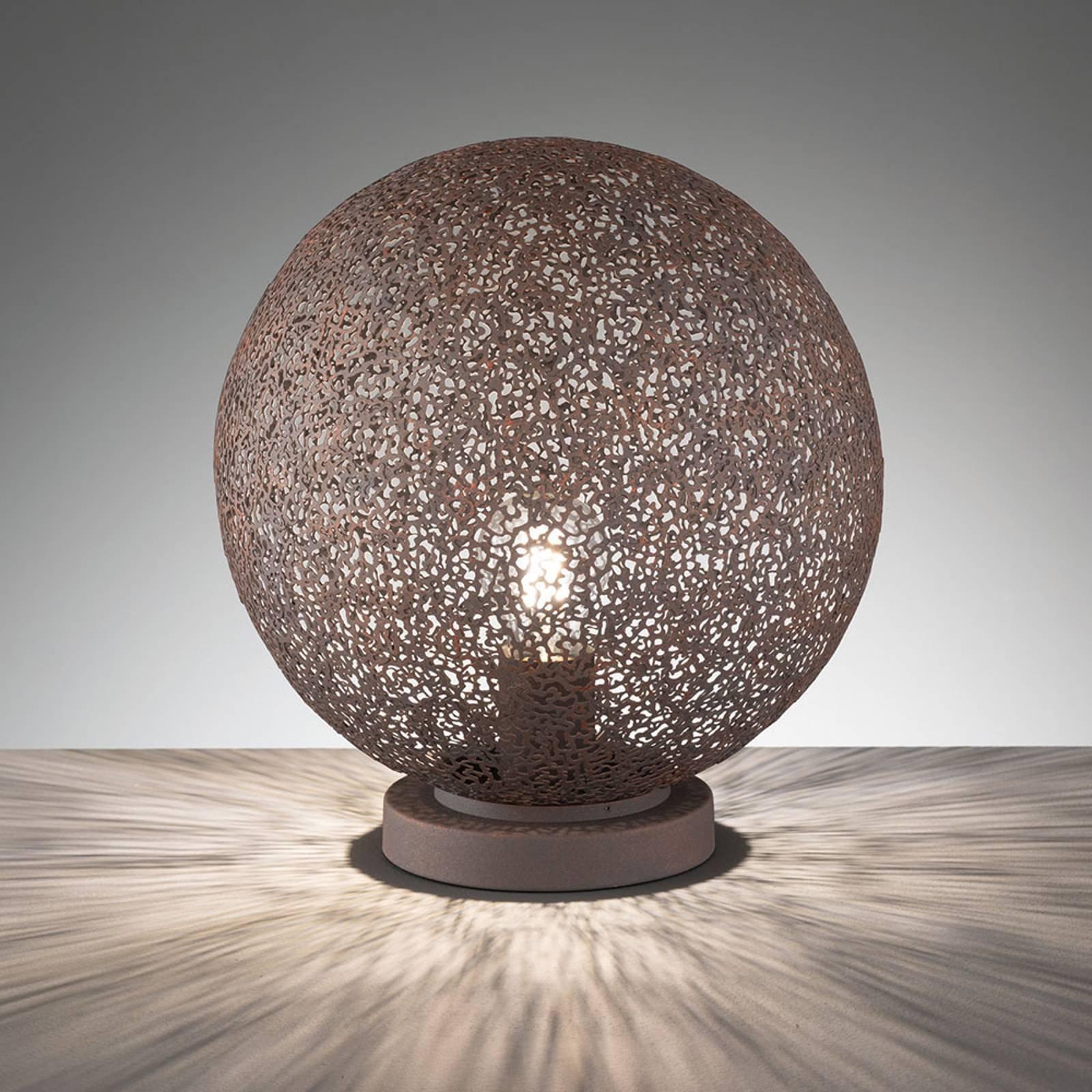 Bordlampe Willo, høyde 32,5 cm, Ø 30 cm