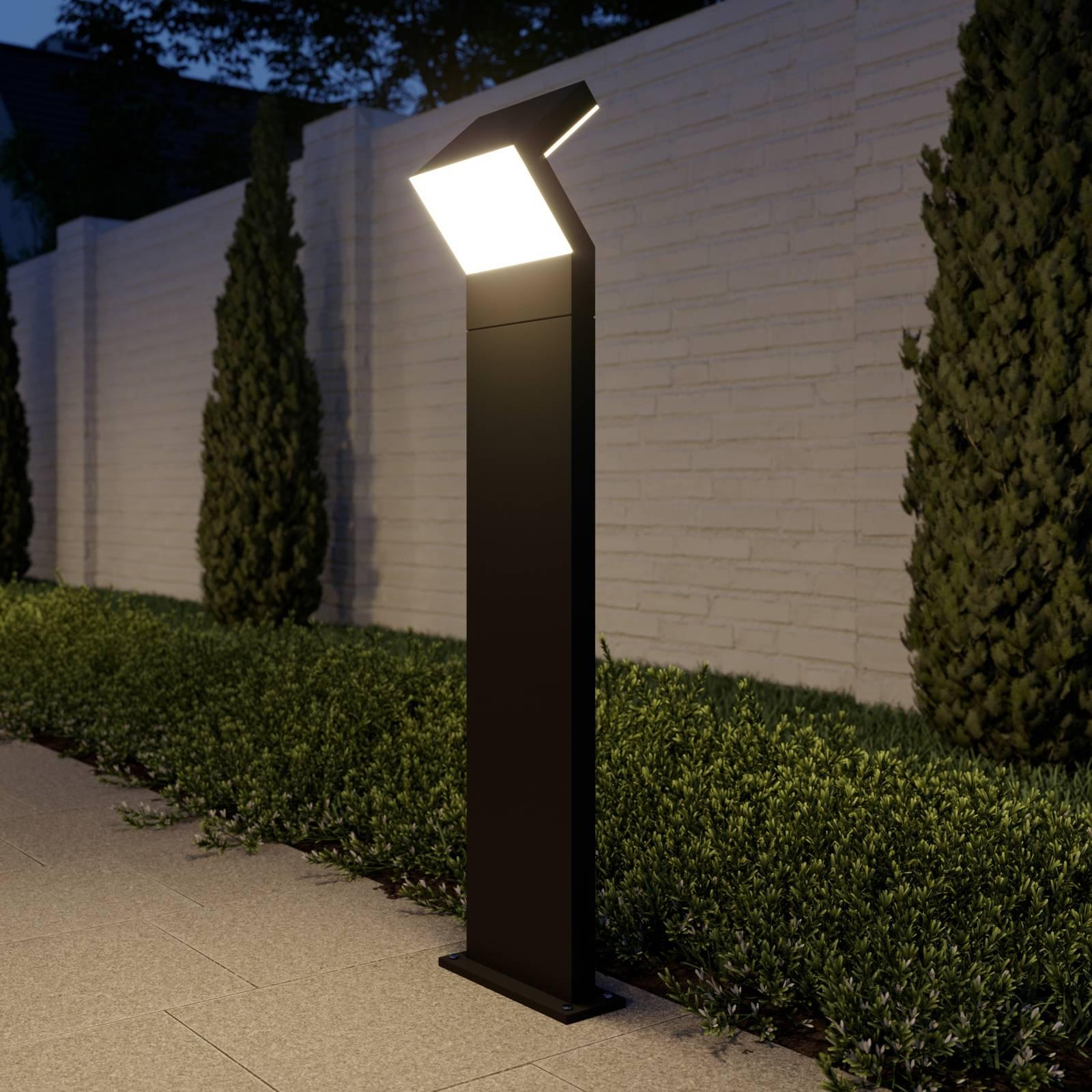 Arcchio Havin -LED-pylväsvalaisin, tummanharmaa