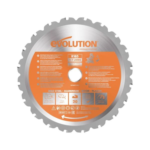 Evolution EV185SMS Sageblad