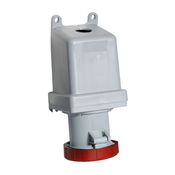 ABB 2CMA167316R1000 Vegguttak IP67, 63 A, yttermontering 4-polet, rød