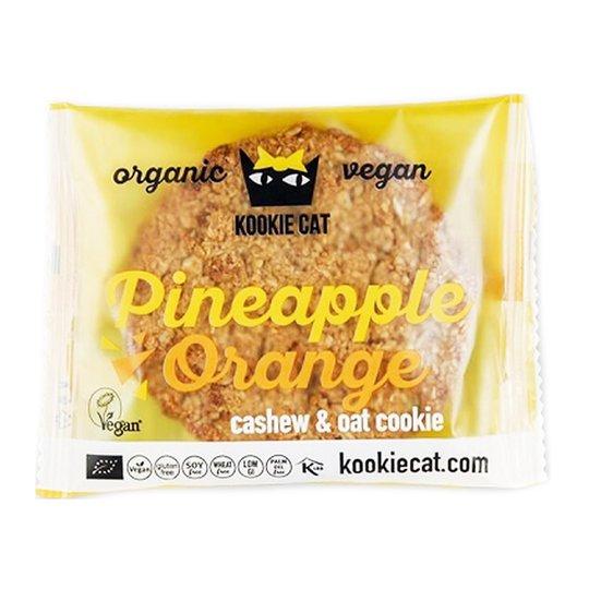 Appelsiini- ja ananaskeksi 90 g - 50% alennus