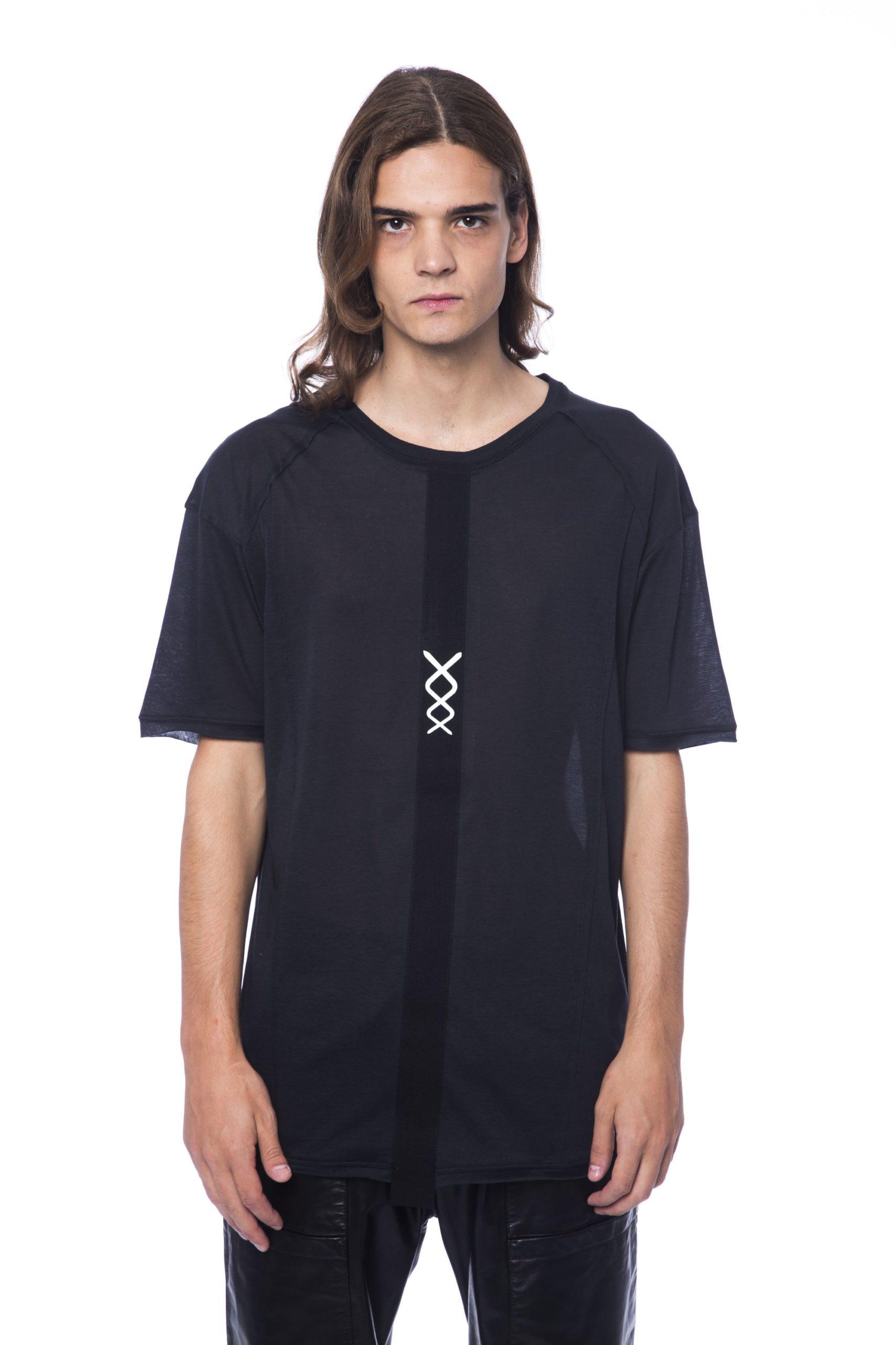 Nicolo Tonetto Men's Nero T-Shirt Black NI678721 - XL