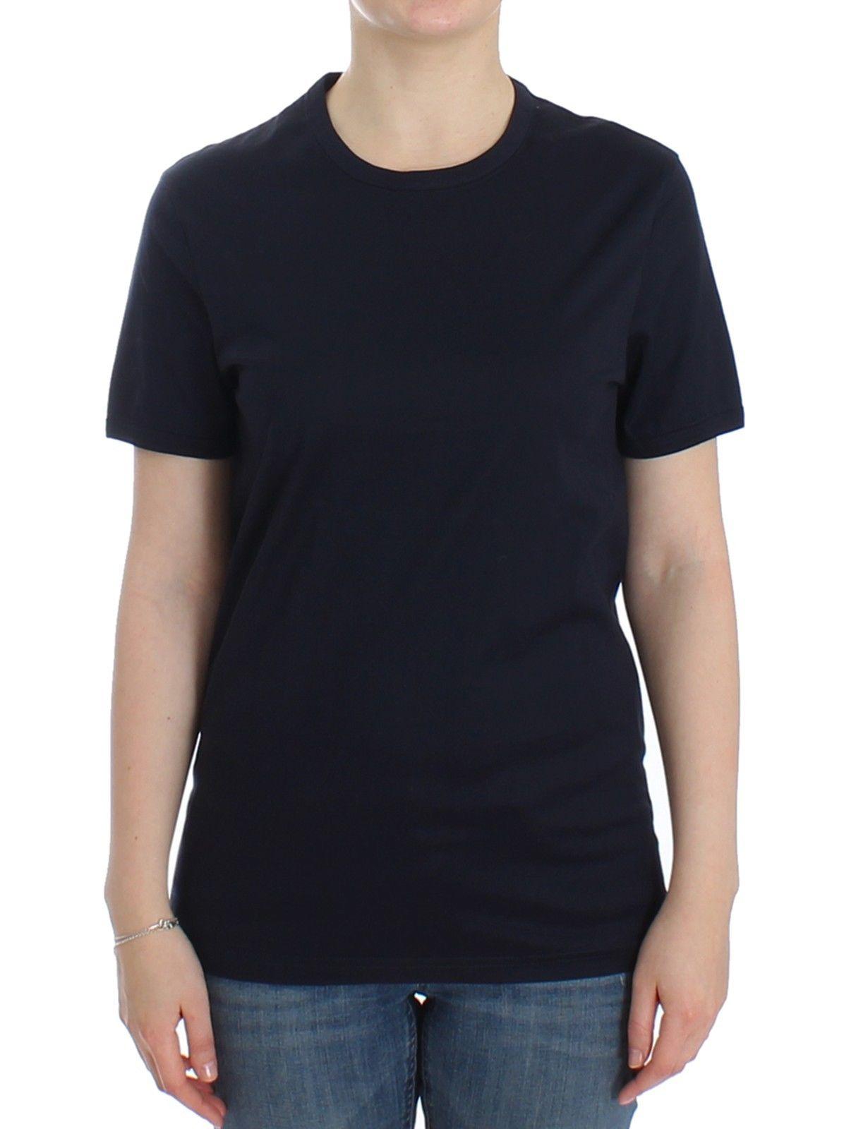 Ermanno Scervino Women's Crew Neck Cotton T-Shirt SIG12588 - IT4   M
