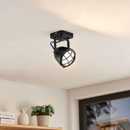 Lindby Biona -LED-kattokohdevalo, 1-lamppuinen