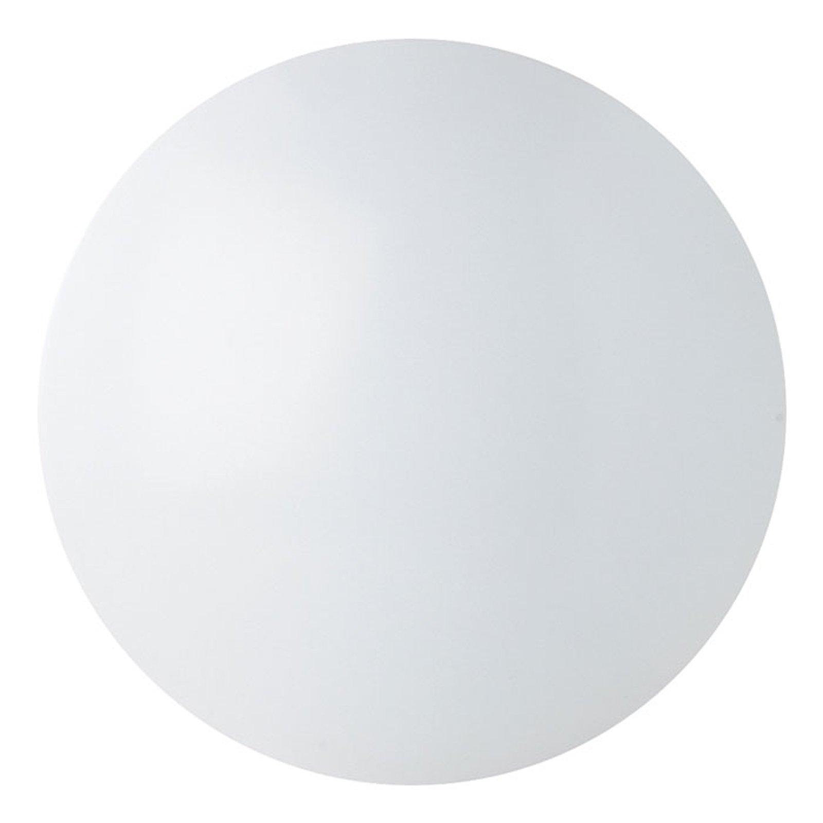 Renzo rund LED taklampe IP44 universalhvit