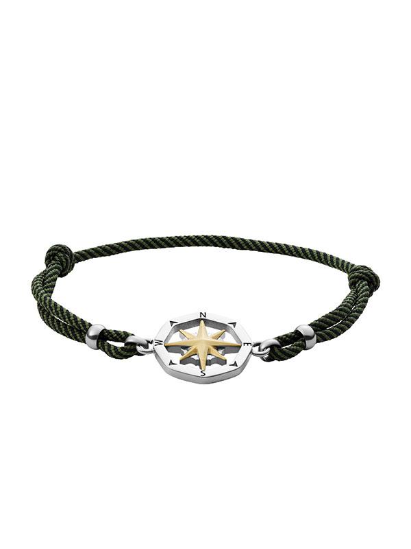 FOSSIL Armband Vintage Casual - Grön JF03843998
