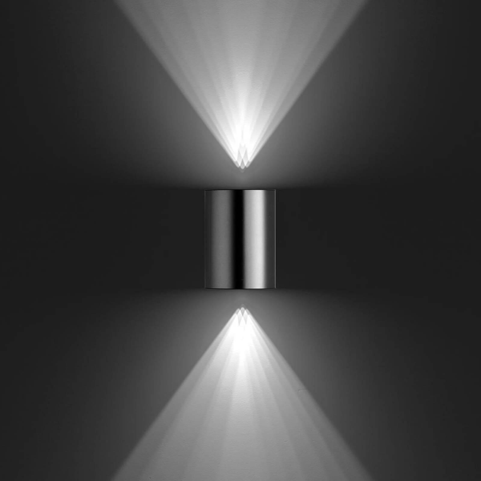 Buxus – LED-ulkoseinävalaisin, ruostumaton teräs