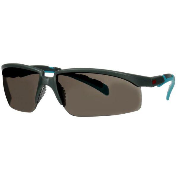 3M Solus 2000 Vernebriller Grå/blå brillestang, klargrå linse